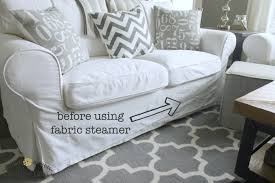 ikea slipcovered sofa white ikea ektorp furniture review must have care essentials