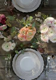 Romantic Table Settings Obsessions A Romantic Table Styling French Country Cottage