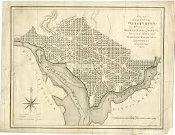 Map Of Washington D by The War Of 1812 A Bicentennial Exhibition