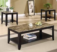 Coffee Table Set Coffee Tables Exquisite Rustic Leather Living Room Furniture
