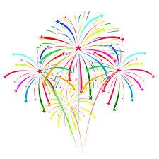 fuochi d artificio clipart fuochi d artificio sull illustrazione di vettore fondo