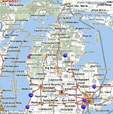 map of michigan reel pleasure sport fishing charters manistee michigan