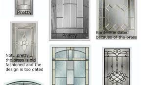 door choose front door glass inserts amazing exterior door glass