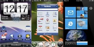 themes for android phones theme the iphone to look like android windows kindle webos and more