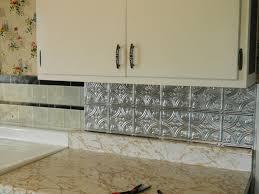 sticky backsplash for kitchen kitchen design ideas stainless steel peel and stick backsplash