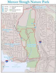 mercer map mercer slough nature park maplets