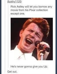 Rick Roll Memes - best 25 rick astley meme ideas on pinterest rick astley for