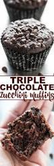 triple chocolate zucchini muffins averie cooks
