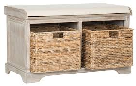 Wicker Storage Chest Of Drawers Amh5736g Benches Furniture By Safavieh