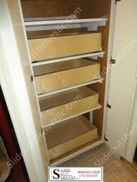 Roll Out Pantry Shelves by Attaching Pull Out Shelves Onto Pantry Shelves Allows The Shelves