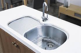 Kitchen Undermount Sinks With Drainboard Sink Eiforces - Oliveri undermount kitchen sinks