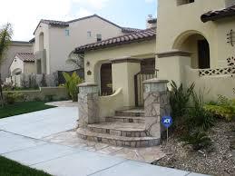 home entrance ideas arizona flagstone front pillers playuna