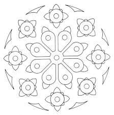 simple printable mandala coloring pages mandala coloring pages