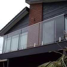 Frameless Glass Handrail Frameless Glass Railing Glass Balustrade Systsems Balcony