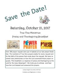 praise and thanksgiving praise breakfast at doubletree hotel press enterprise events