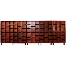 teak bookcases by peter hvidt for soborg for sale at 1stdibs