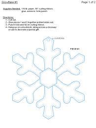 best 25 paper snowflake template ideas on pinterest paper