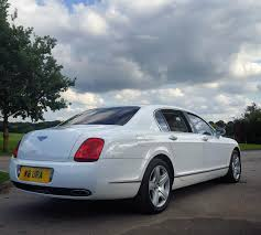 white bentley cars white bentley flying spur hire
