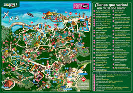 Hungry Shark Map Itineraries For A Day At Xcaret Theme Park Playa Del Carmen