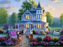 beautiful homes wallpaper wallpapersafari