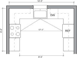 kitchen floor plans with island 18 best kitchen floor plans images on kitchen floor