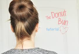 donut bun tutorial the donut bun stylelab