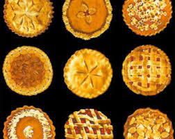 thanksgiving pie etsy