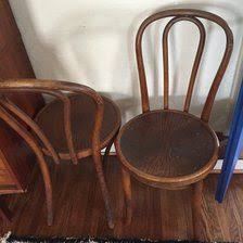 Thonet Bistro Chair This Vintage Bentwood Thonet Bistro Chair Is Made Of Wood With The