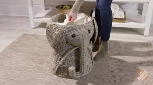 laundry room gorgeous rattan elephant laundry hamper branas