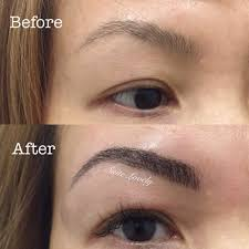 uneven brows can be fixed with microblading yelp