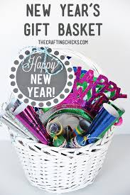 new year gift baskets new year s gift basket printable tags free printable and gift