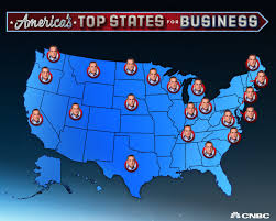Cheap States To Live In by America U0027s Top States For Business 2017