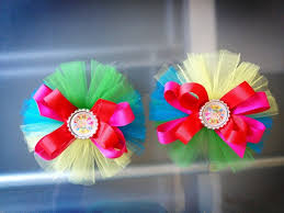 tulle hair bows 18 best hair bows images on tulle hair bows hairbows