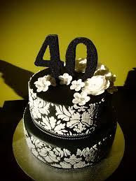 40th birthday cake by cake appreciation society member ninas