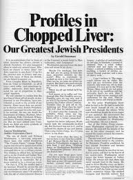 jewish thanksgiving jokes national lampoon looked at our greatest jewish presidents