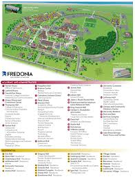 Usa Campus Map by Campus Map Fredonia Edu