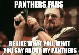 true evey one says panthers suck till they mak int to the