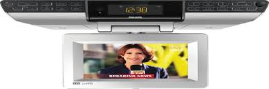 best buy under cabinet tv best under cabinet tvs for kitchen tv dvd combo or tv radio combo