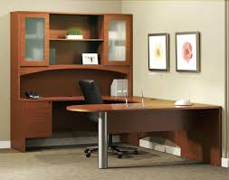 U Shaped Computer Desk U Shaped Desk Plans U Shaped Desk Home Office With Hutch Building