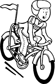 bicycle how to draw a bike for kids prints and colors art
