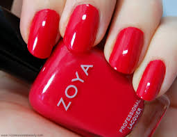 zoya nail polish in lc swatch all girly gossip