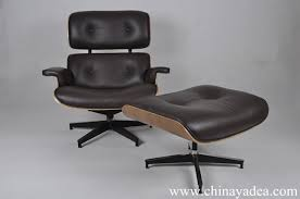 Classic Armchair Designs Herman Miller Eames Lounge Chair Replica Walnut Choco Brown