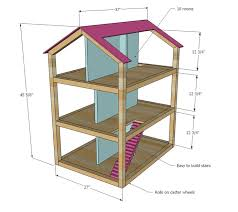 Free Miniature House Plans House by Ana White Build A Dream Dollhouse Free And Easy Diy Project