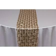 sequins elegance rose gold table runner great events rentals