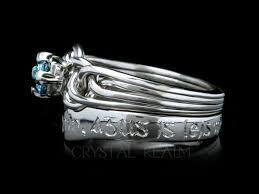 avalon wedding band avalon blue diamond puzzle engagement ring and gaelic beloved s