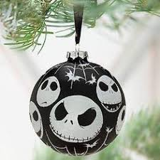 skellington ornament smiling faces skellington and