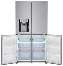 Lg French Door Counter Depth - lnxc23726s lg appliances 23 u0027 counter depth french door