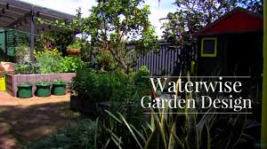 waterwise garden design youtube