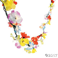 Novelty String Lights by Flower Lei Garland String Lights