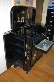 Asian Bar Cabinet Antique Asian Japanese Liquor Cabinet Bar Black Lacquer Antique